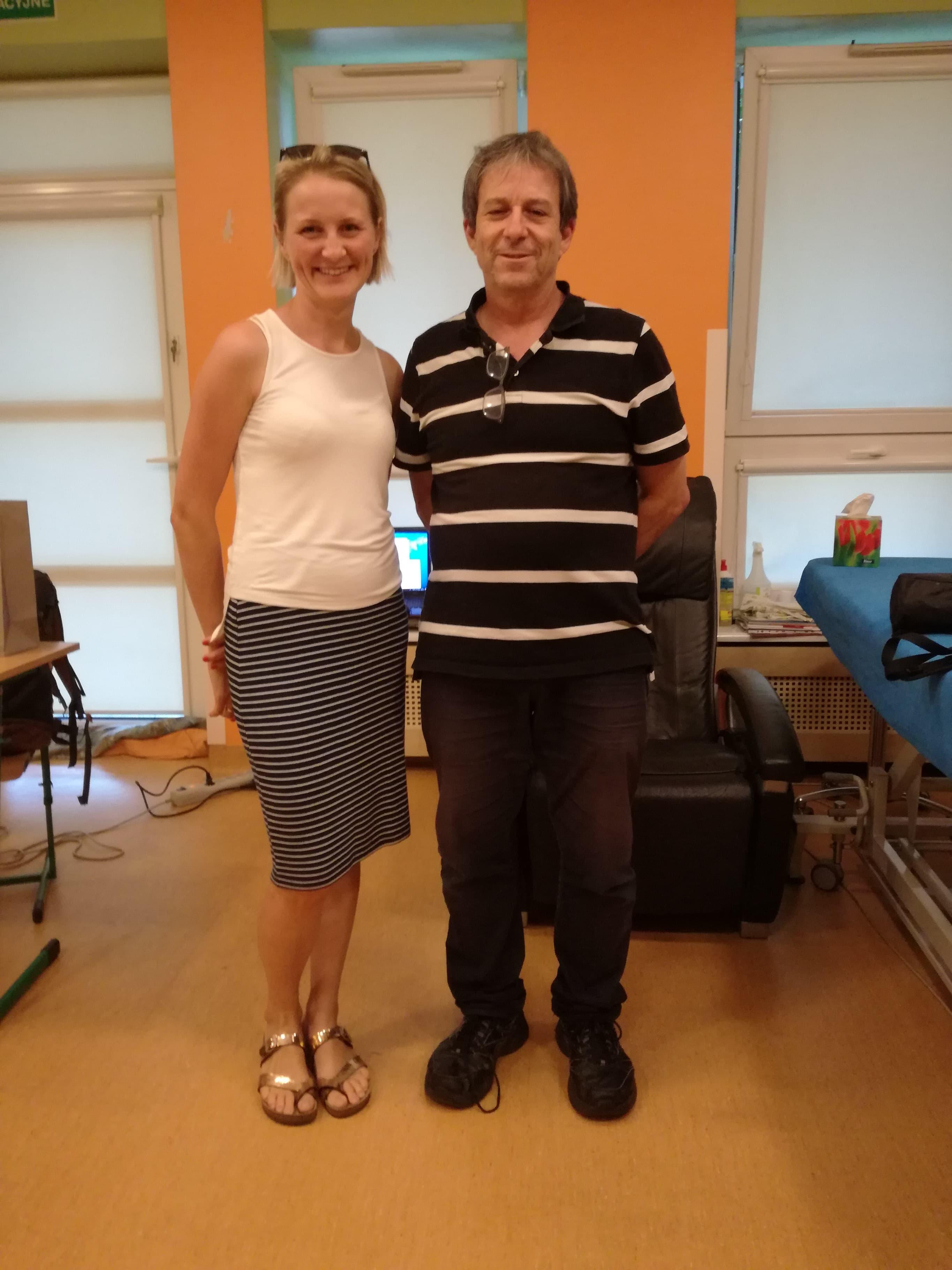 Meir Lotan w Polsce, Konin, rett syndrom