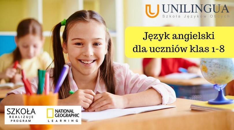 Angielski dla uczniów szkół podstawowych