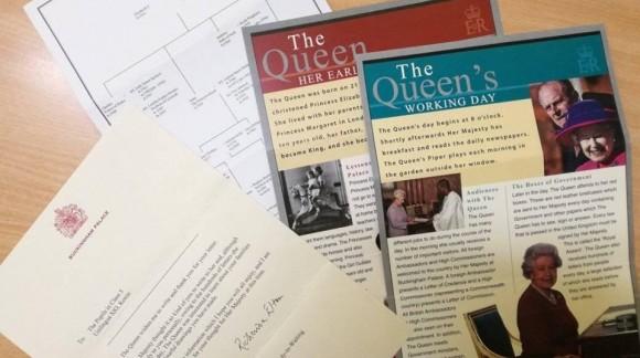 Dostaliśmy list z Pałacu Buckingham