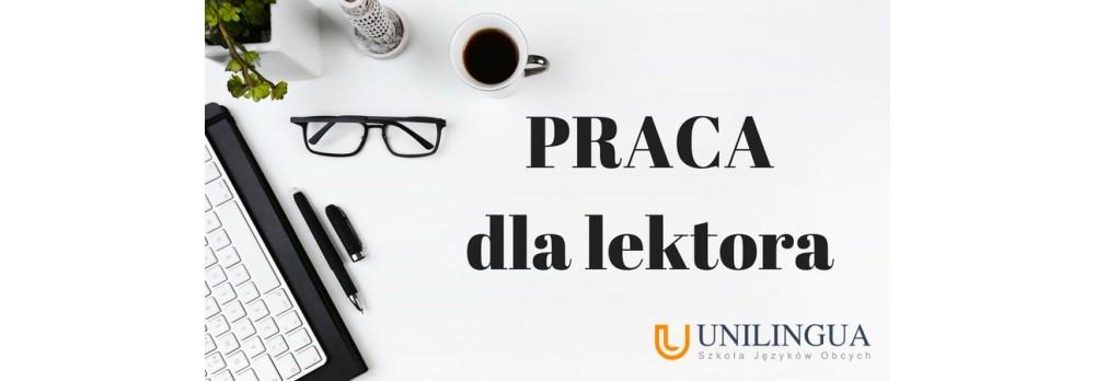 PRACA dla lektora j.angielski i hiszpański